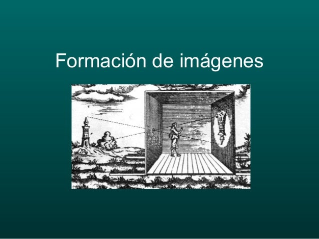 Formación de imágenes
