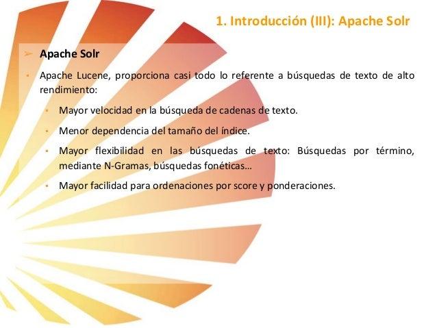 Formación apache Solr