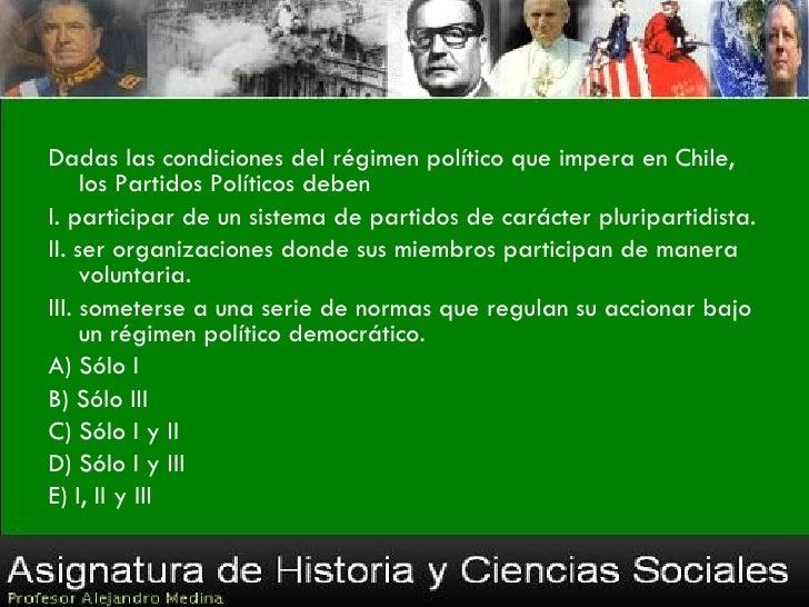 Cualquier chileno que tenga dieciocho años de edad y que este inscrito en los registros      electorales podrá participar ...