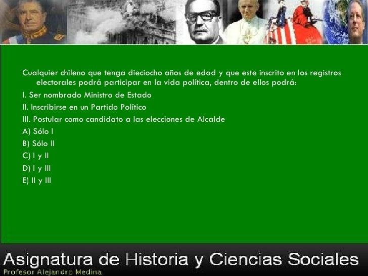 La Región es una unidad básica de la administración territorial chilena, ¿qué     requisito (s) se consideró (consideraron...