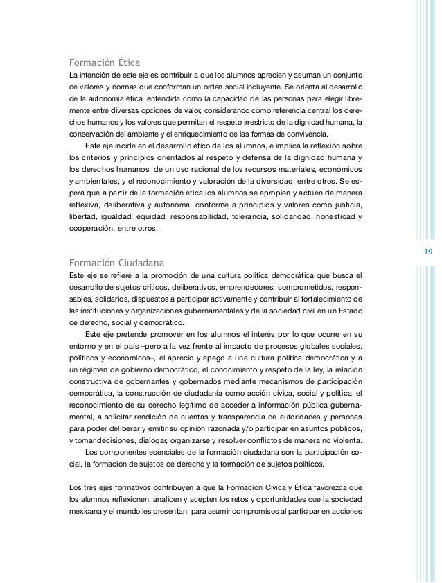 21 El desarrollo de las competencias cívicas y éticas es progresivo, por lo que se des- criben en una secuencia gradual qu...