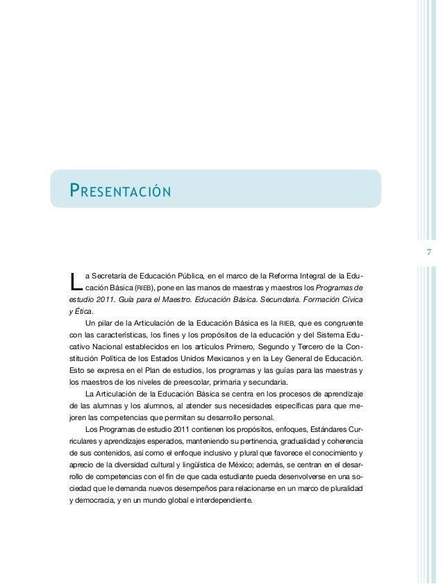 8 La Guía para maestras y maestros se constituye como un referente que permite apoyar su práctica en el aula, que motiva l...