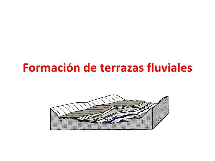 Formaci n de terrazas fluviales for Terrazas fluviales