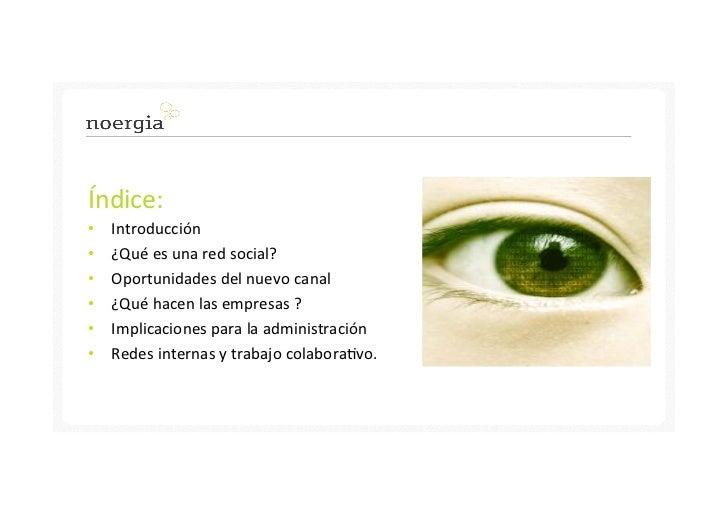 Administración pública: comunicar en internet y las redes sociales Slide 2