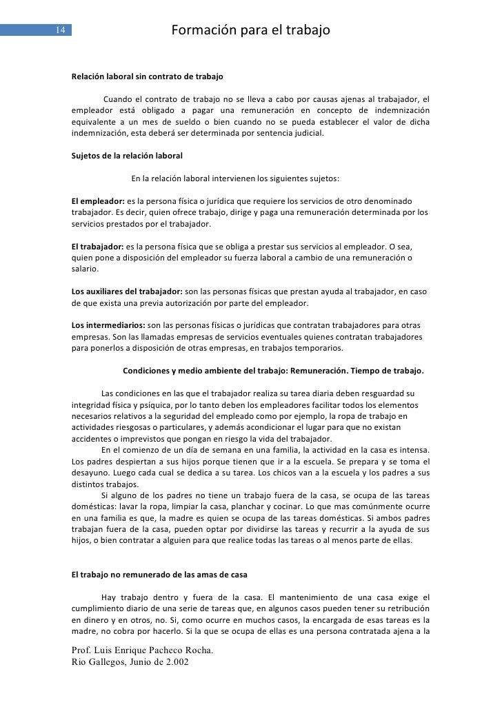 Contrato De Servicio Domestico Trabajos Contrato De