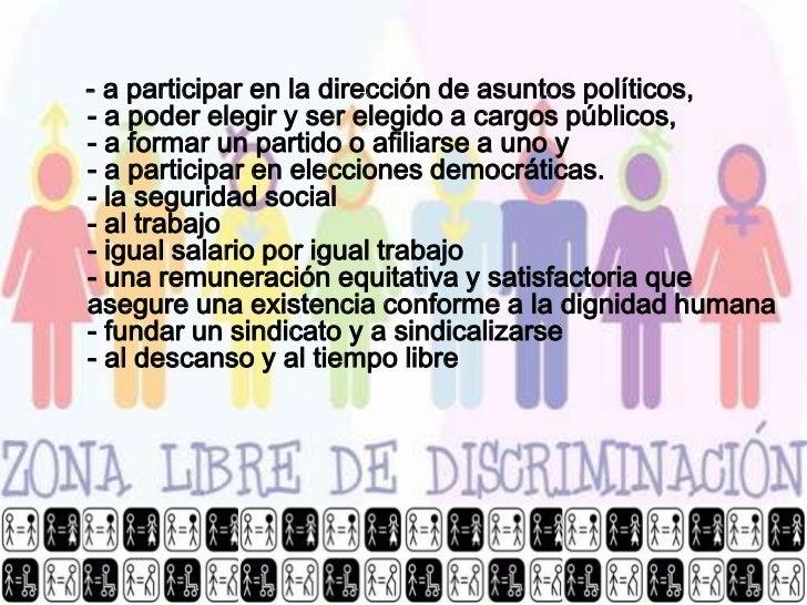 Derechos humanos - Fundar un partido politico ...