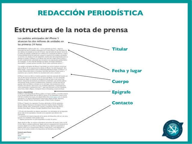 Redacción Periodística Y Producción De Post Para Blogs