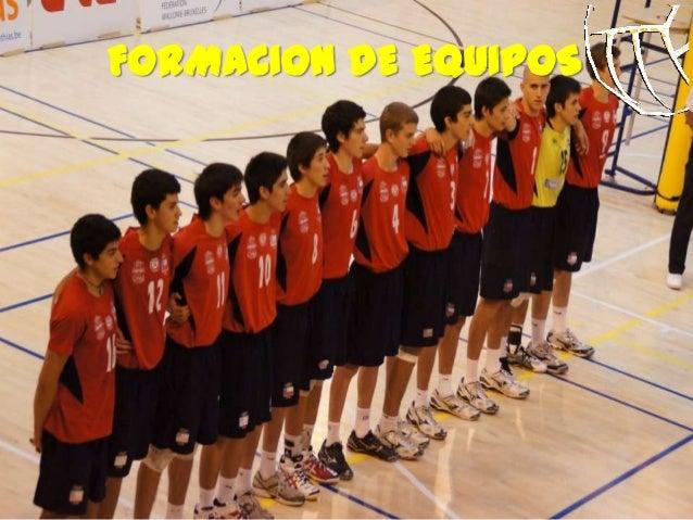 FORMACION DE EQUIPOS