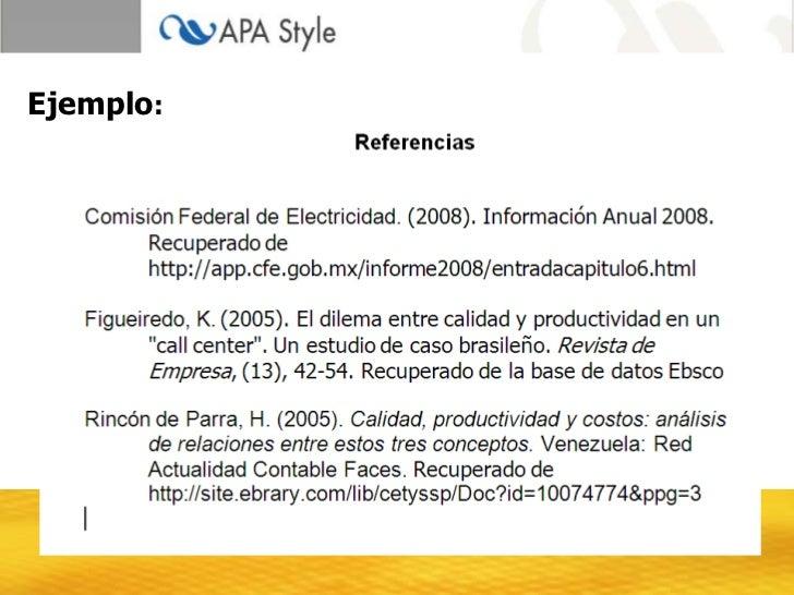 ¿Qué son las normas APA?
