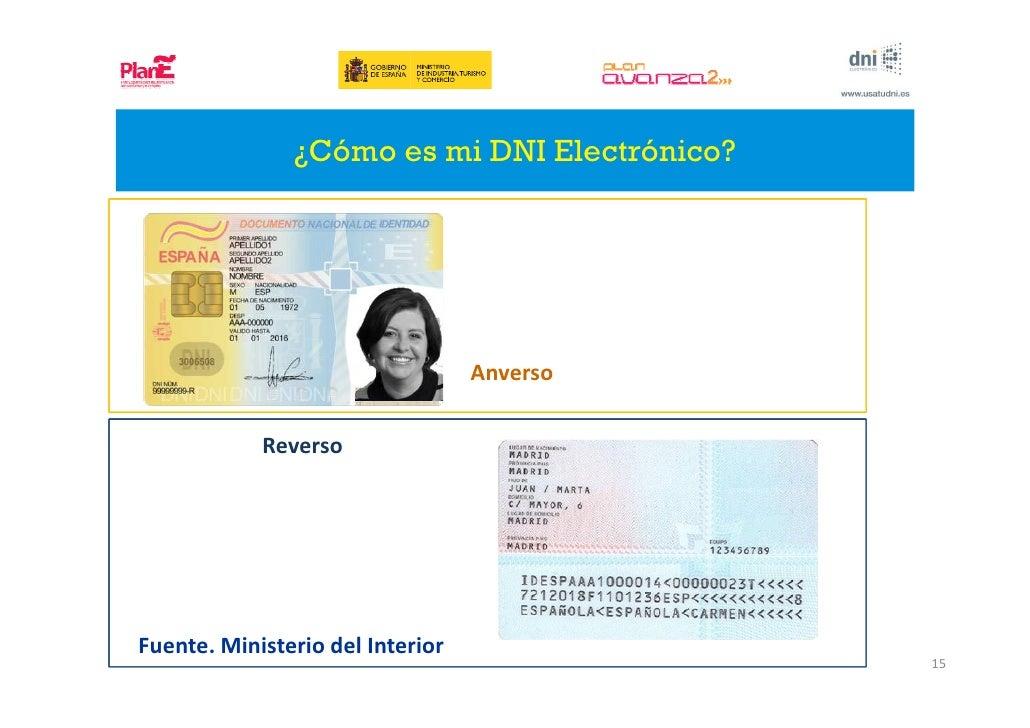 Formacion dni electronico for Dni ministerio del interior turnos