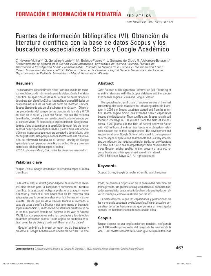 FORMACIÓN E INFORMACIÓN EN PEDIATRÍA                                                                             PEDIÁTRIC...