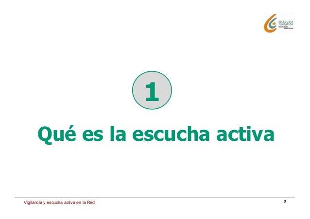 Estrategia de presencia en Internet 3 1 Qué es la escucha activa Vigilancia y escucha activa en la Red