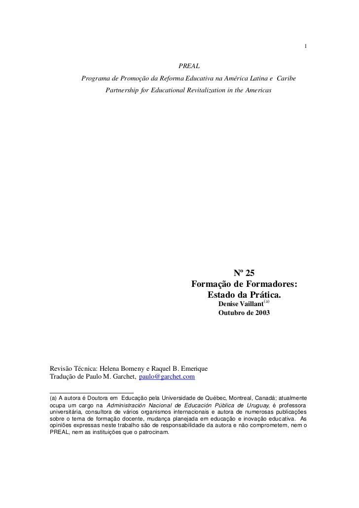 1                                               PREAL           Programa de Promoção da Reforma Educativa na América Latin...