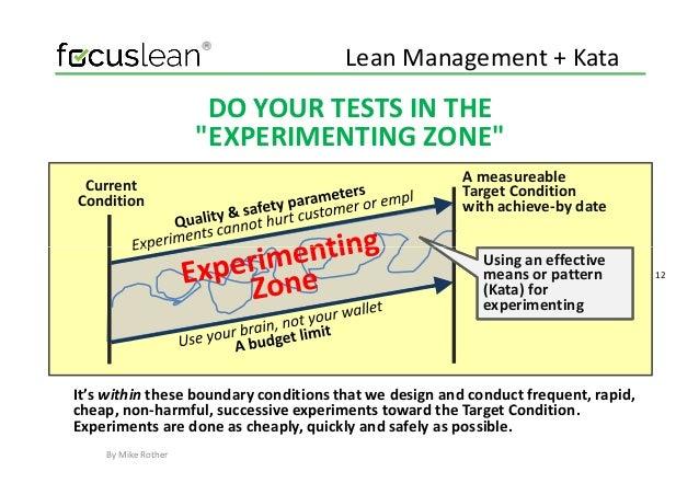 Lean management kata training lean management sciox Choice Image