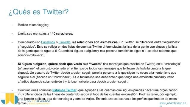 Formación Twitter & Facebook Personal | Julia Mata Bueso Slide 2