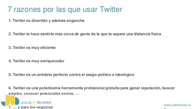 Formación Twitter & Facebook Personal | Julia Mata Bueso Slide 3