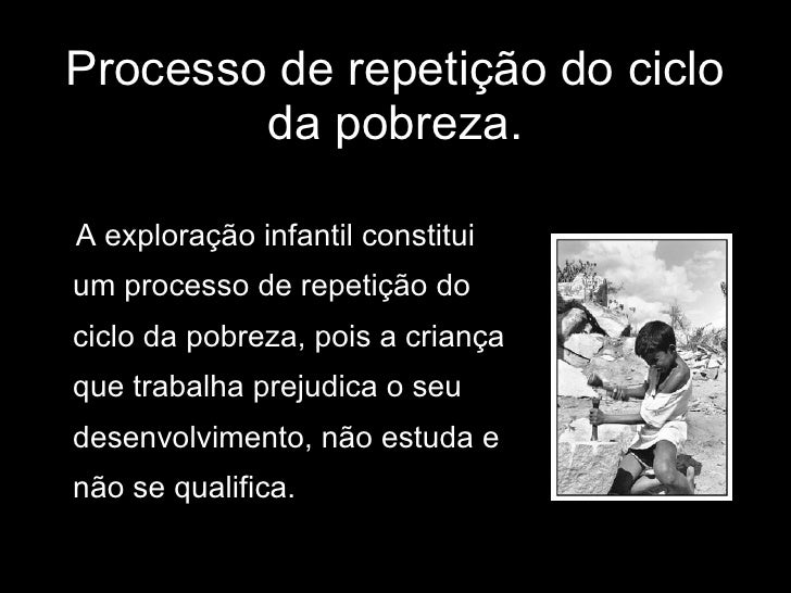 exploraçao infantil Slide 3