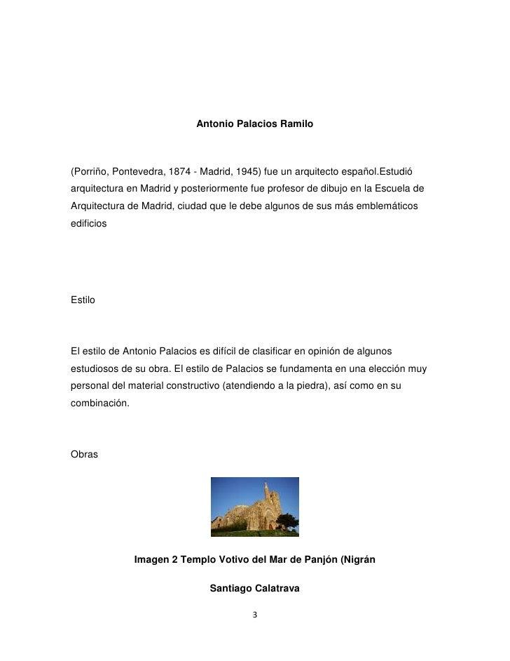 Formal arquitectos mas importantes de europa - Arquitecto espanol famoso ...