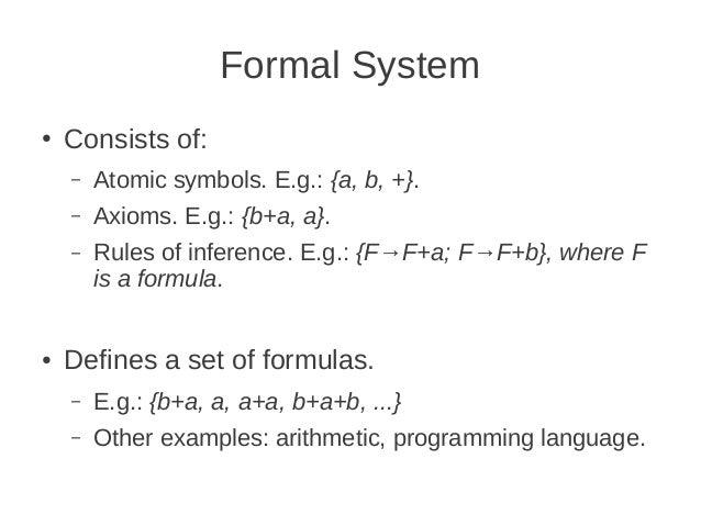 Formal Logic Teaching Practice
