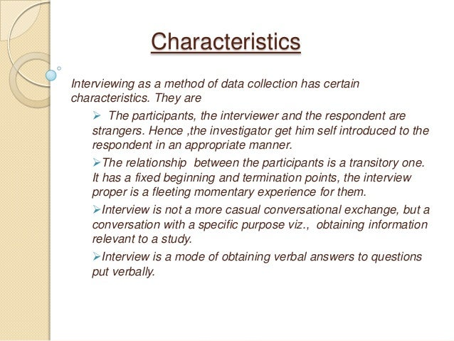 interview self introduction sample