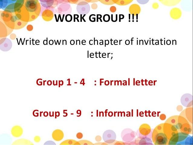 informal letter 18