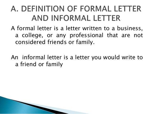 Formalandinformalletter 130715003353 Phpapp01 1