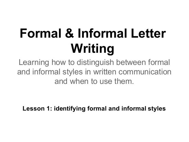 Writing skills lesson plans