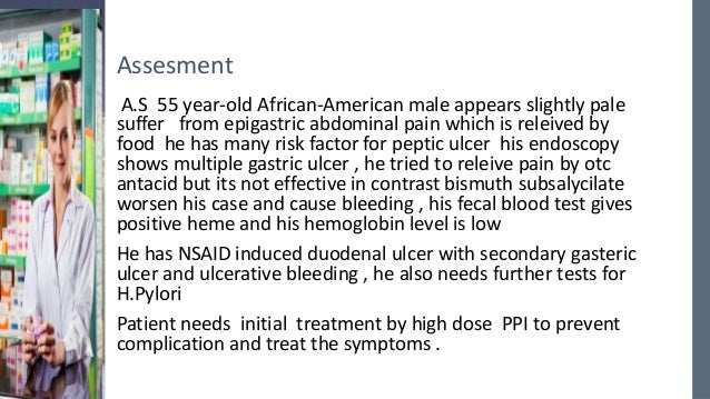 Formal Case 5 Problems Duodenal Ulcer Hypertension
