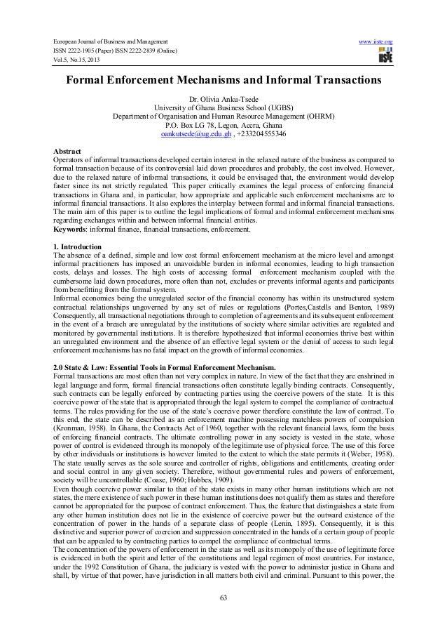 enforcement mechanism essay The international criminal court's ineffective enforcement mechanisms: the indictment of president omar al bashir gwen p barnes introduction.