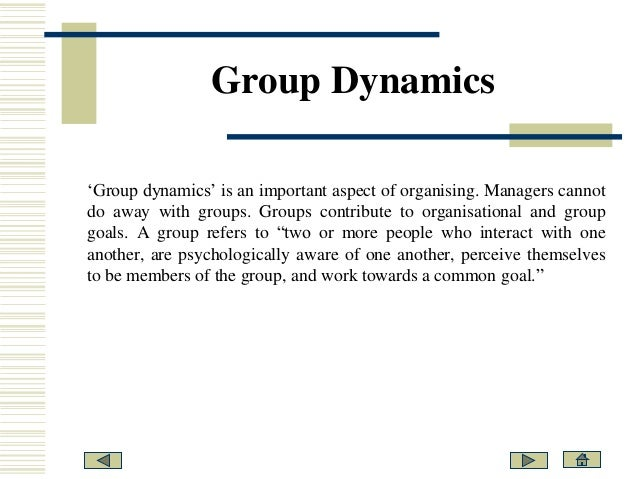 working as a team group dynamics essay Project team dynamics paper teams and team processes group dynamics essay team dynamics and conflict resolution in work teams a team is a group of.