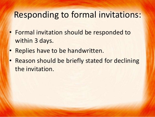 Formal invitation 7 responding to formal invitations stopboris