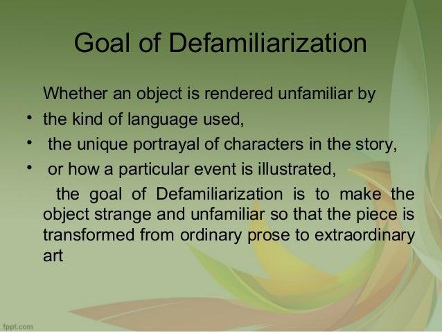 Defamiliarization In Gulliver S Travels