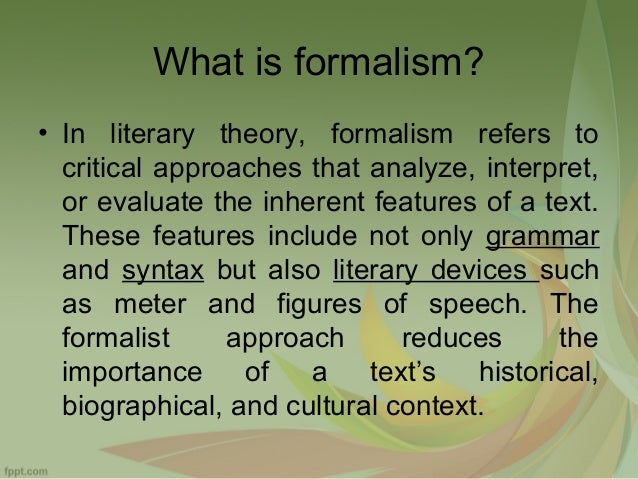 a argumentative essay on the story of a hour using a formalist approach Why write literary criticism writers could critique the story of an hour by kate chopin from a feminist using first person in an academic essay.