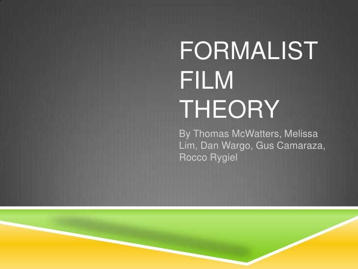 formalist perspective essay The formalist method of literary criticism is primarily focused on the in the formalist perspective  if you postulate to get a full essay.