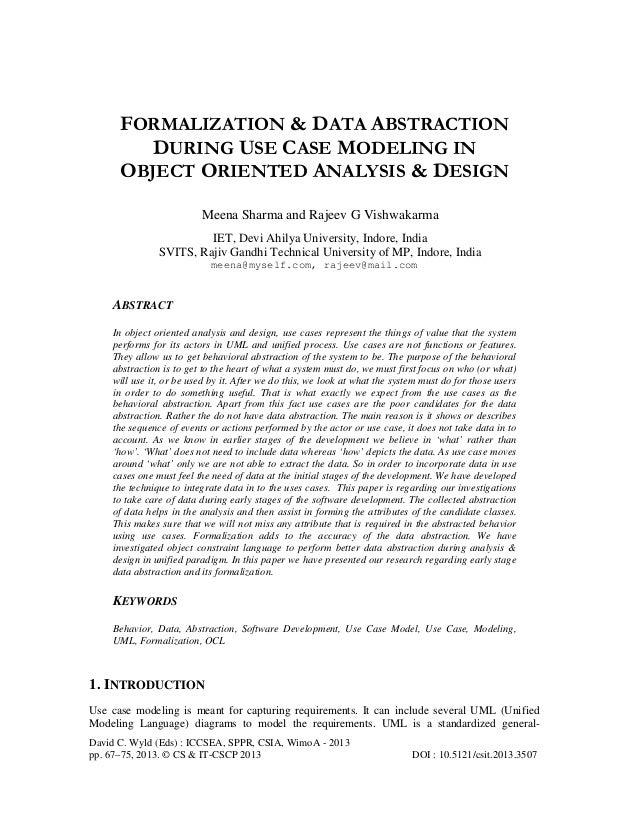 David C. Wyld (Eds) : ICCSEA, SPPR, CSIA, WimoA - 2013 pp. 67–75, 2013. © CS & IT-CSCP 2013 DOI : 10.5121/csit.2013.3507 F...