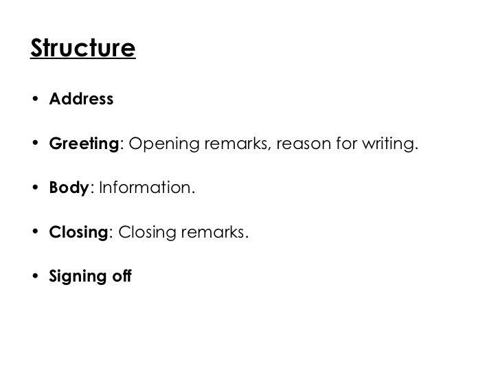 Formal letter vs informal letter structure altavistaventures Images