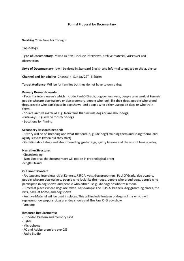 film sponsorship proposal letter pdf