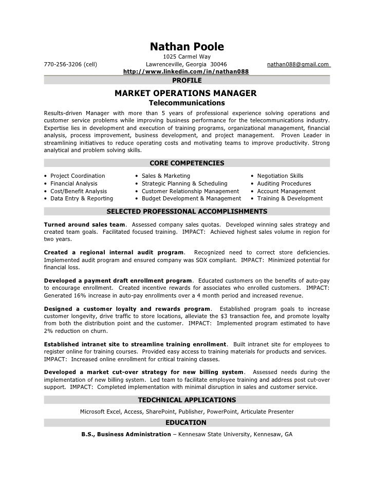 Formal Resume Nathan Poole. Nathan Poole 1025 Carmel ...  Formal Resume
