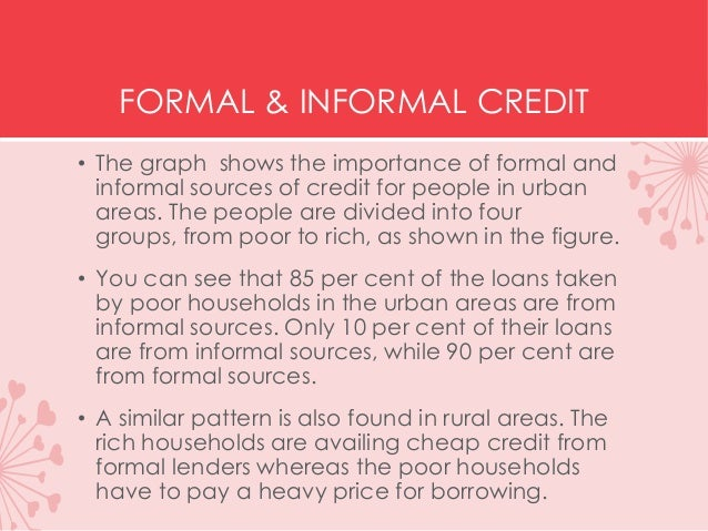 Borrowing amongst friends: The economics of informal credit in rural China