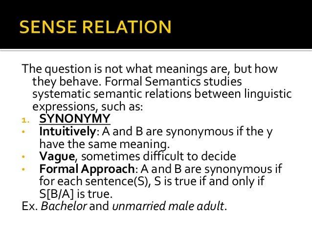 Essay in meaning semantics truth - …