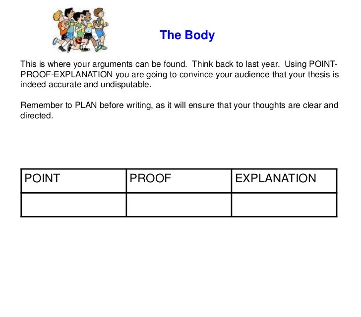 point proof comment essay writing Transcript of peal - point // evidence // analysis // link  critical essay writing  make sure that you proof read you work before handing it in.