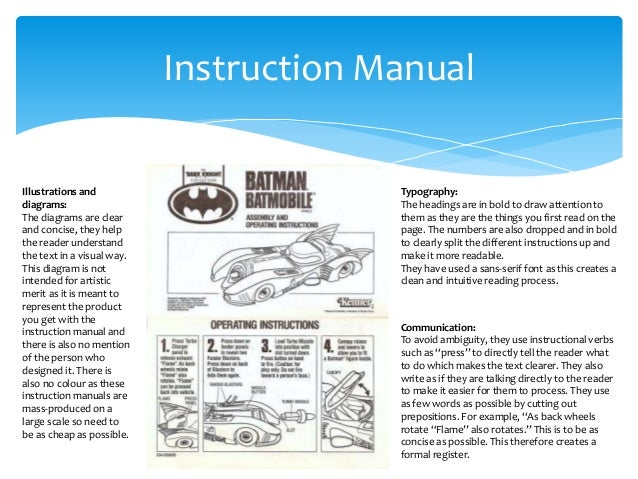 writing a manual template