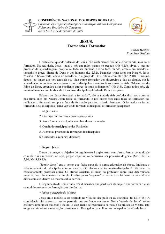CONFERÊNCIA NACIONAL DOS BISPOS DO BRASIL Comissão Episcopal Pastoral para a Animação Bíblico-Catequética 3ª Semana Brasil...