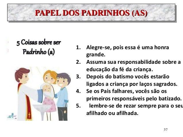 8684c5561fbf38 Formação batismo pais e padrinhos Católicos