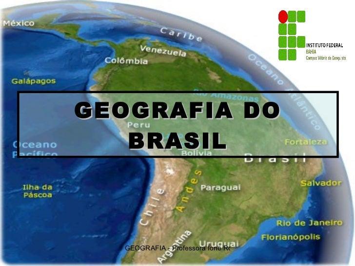 I Formação Dos Coroinhas: Formação Do Território Brasileiro