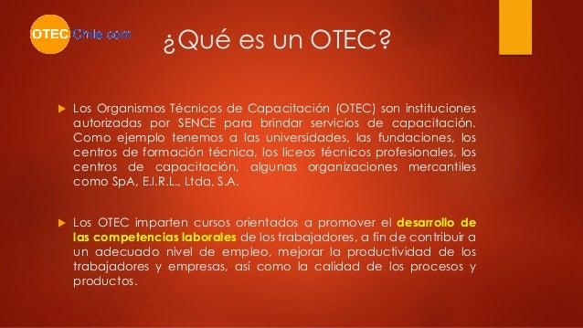 http://www.otecchile.com Slide 2