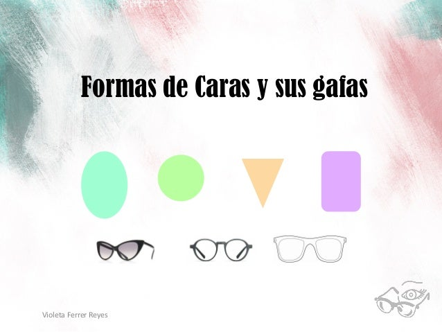 Formas de Caras y sus gafas  Violeta  Ferrer  Reyes