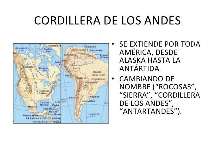 Formas Del Relieve Chileno Y Zonas Climaticas De Chile