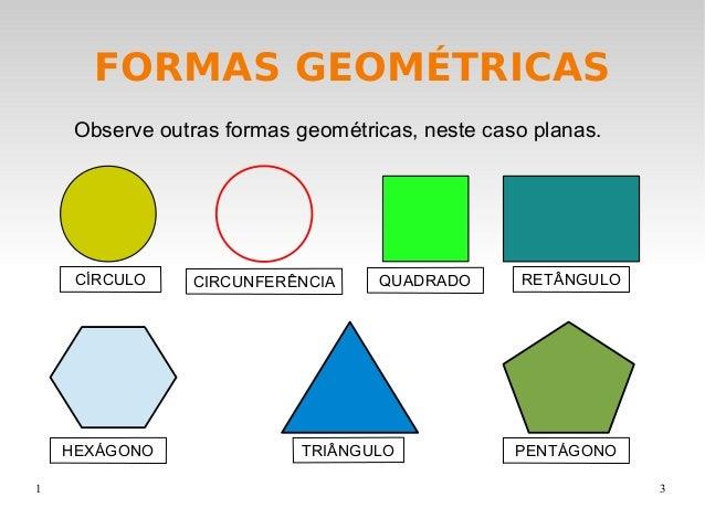 Formas geometricas for Las formas geometricas