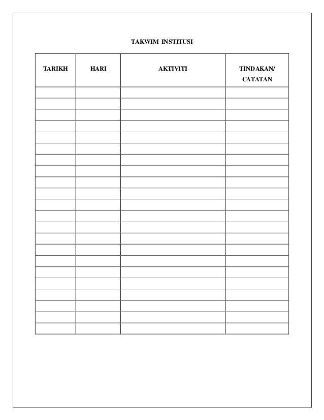 Format Buku Persediaan Mengajar 1